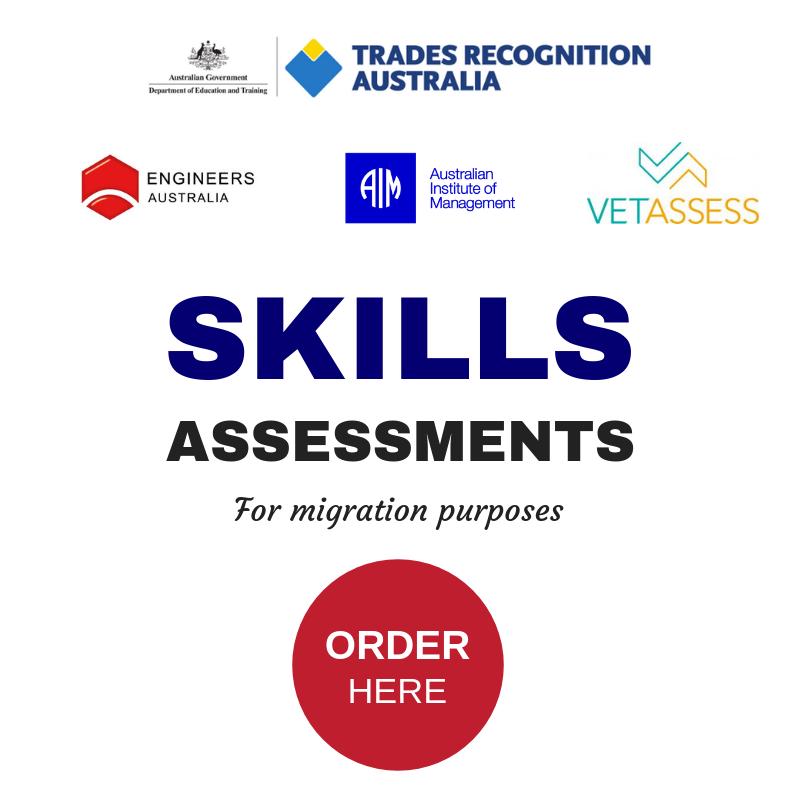 Skills Assessment Order Form