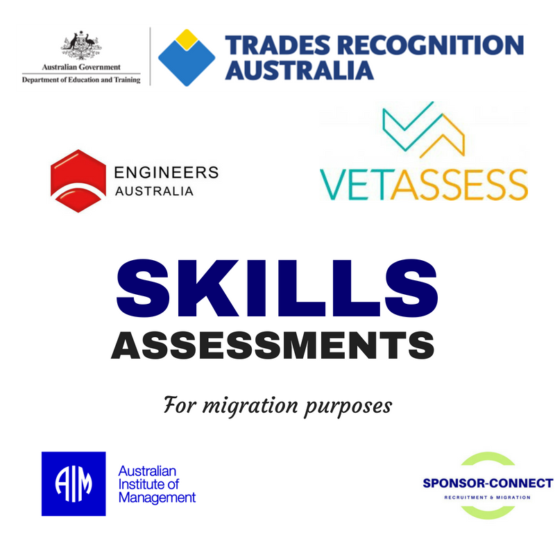 Skills Assessments for migration purposes